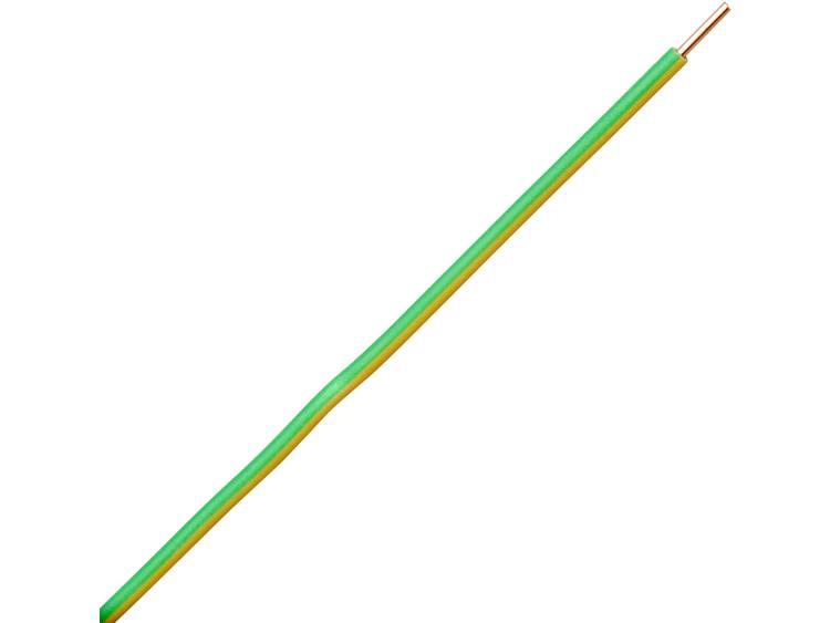 Kopp 154725002 Draad H07V-U 1 x 1.50 mm² Groen-geel 25 m