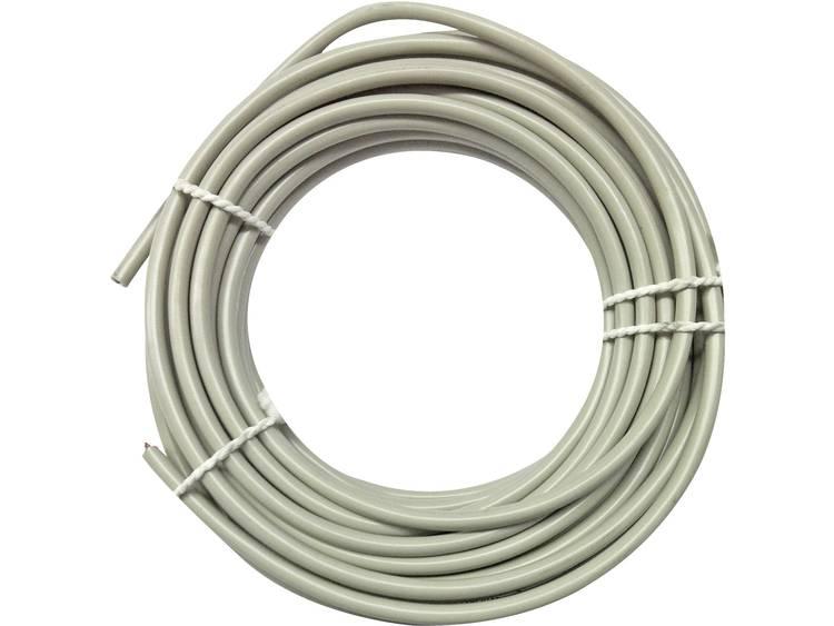 Kopp 165310044 Telefoonkabel J-Y(ST)Y 2 x 2 x 0.60 mm² Grijs 10 m