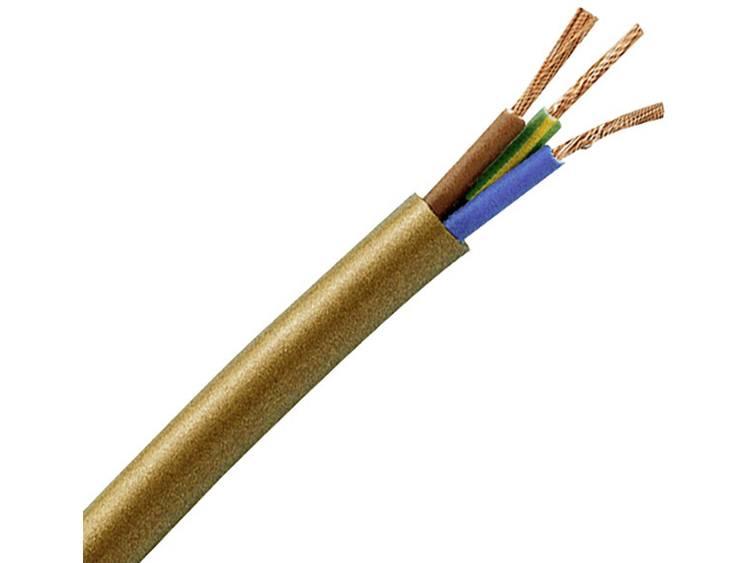 Kopp 151625006 Geïsoleerde kabel H03VV-F 3 G 0.75 mm² Wit 25 m