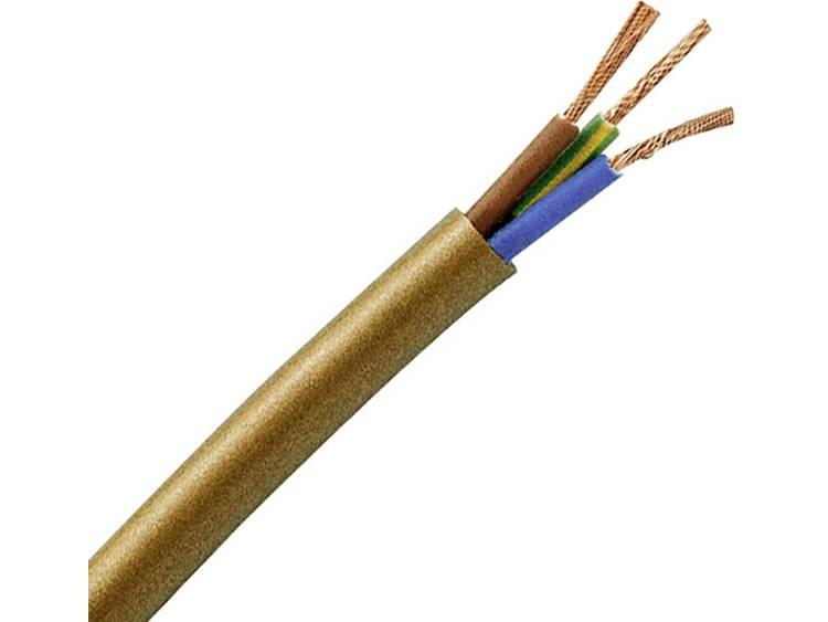 Kopp 152305846 Geïsoleerde kabel H03VV-F 3 G 0.75 mm² Zwart 5 m