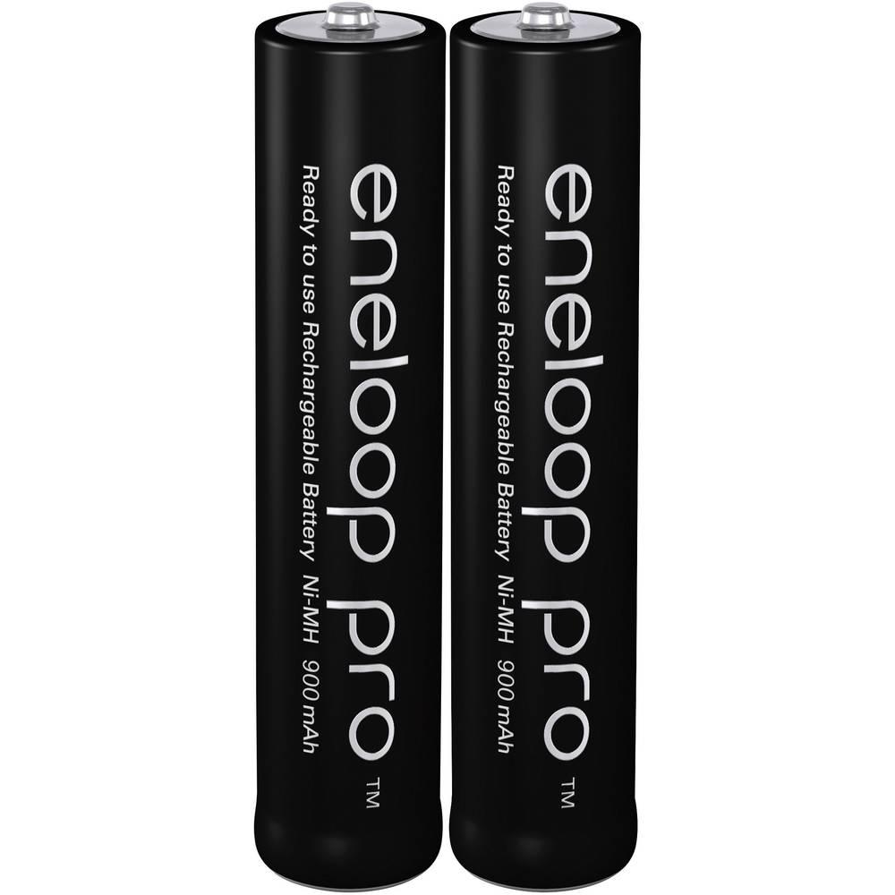 Panasonic eneloop Pro HR03 Laddbart batteri AAA (R03) NiMH 900 mAh 1.2 V 2 st