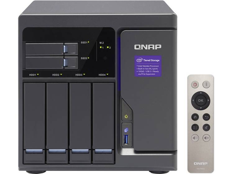 QNAP TVS-682-I3-8G NAS-serverbehzuizing