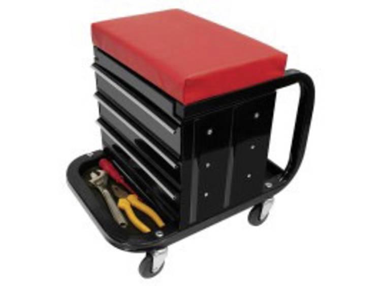 Werkplaatsstoel ProPlus 580526 (l x b x h) 375 x 370 x 390 mm