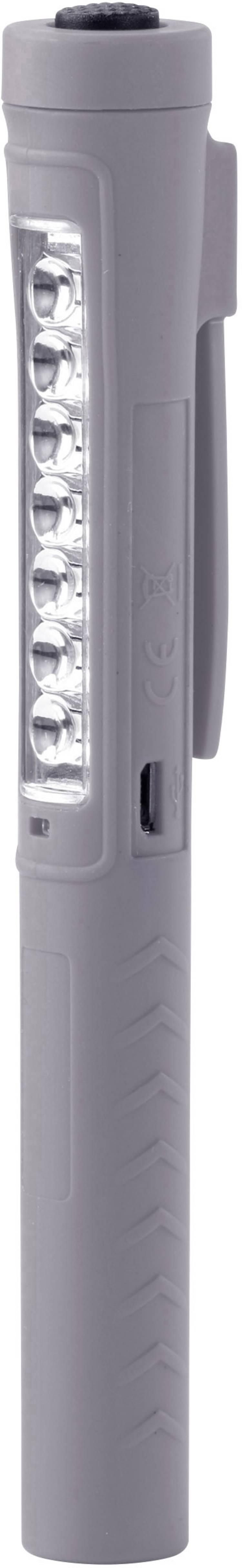 Werklamp werkt op een accu Ampercell AM 6649A 1 W