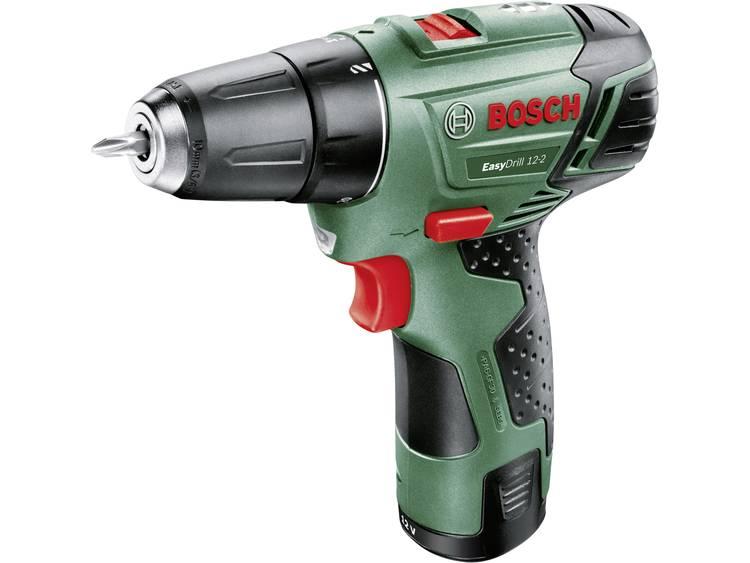 Bosch Accu-schroefboormachine incl. accu, incl. koffer 12 V 2.5 Ah Li-ion