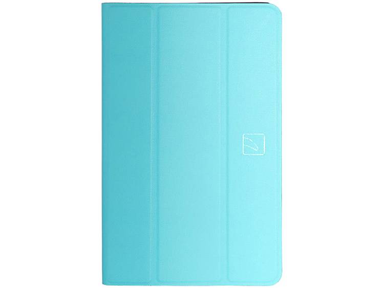 Tucano Bookcase Model-specifieke tablet hoes Samsung Galaxy Tab A Turquoise