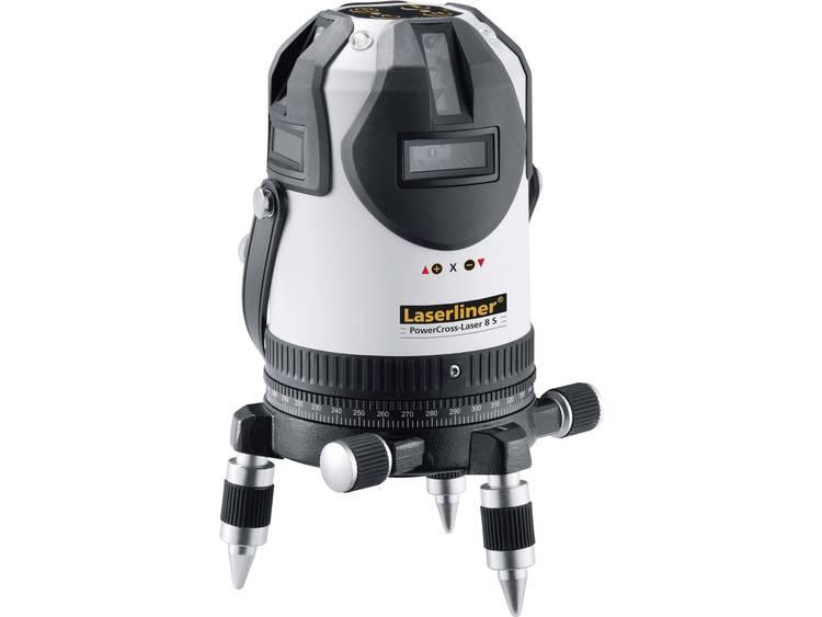 Laserliner PowerCross-Laser 8 S Kruislijnlaser Zelfnivellerend Reikwijdte (max.): 40 m kopen