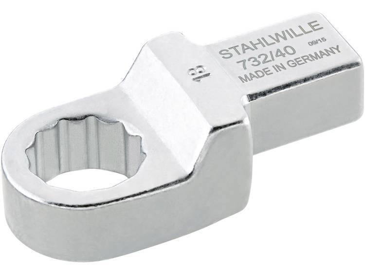 Stahlwille 58224013 Ring insteekgereedschap 13 mm voor 14x18 mm