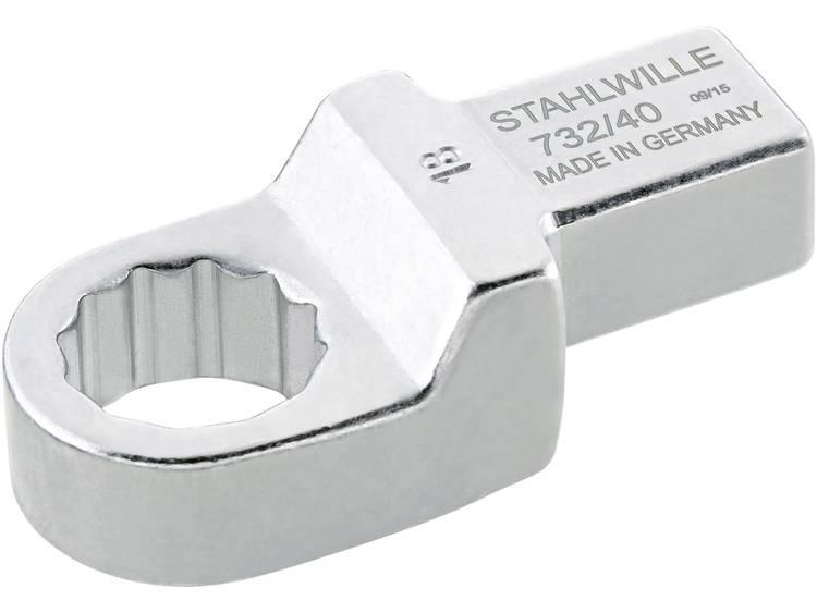 Stahlwille 58224030 Ring insteekgereedschap 30 mm voor 14x18 mm