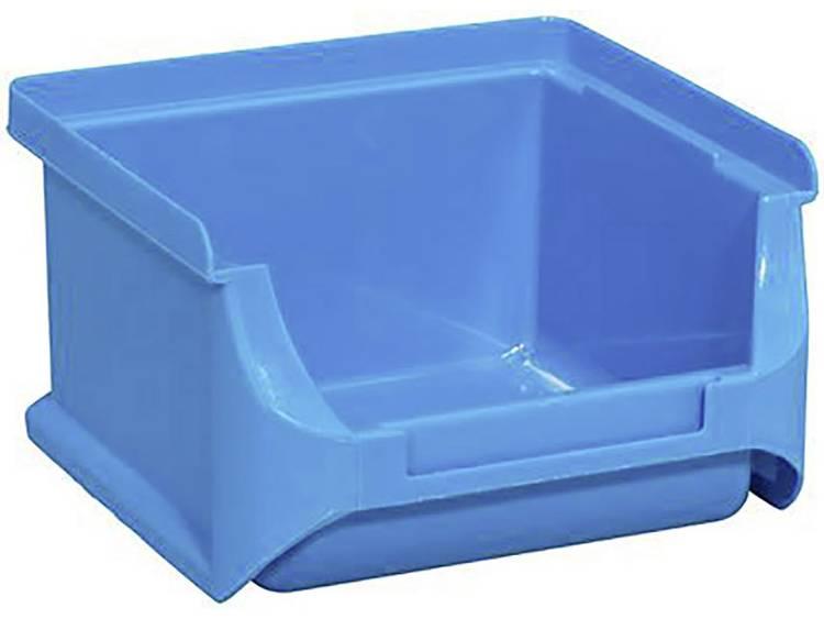 Stapelbak (b x h x d) 100 x 60 x 100 mm Blauw Allit 456200 1 stuks