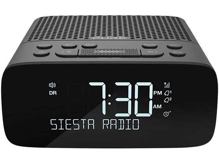 Pure Siesta S2 DAB+ Wekkerradio DAB+, FM Grafiet