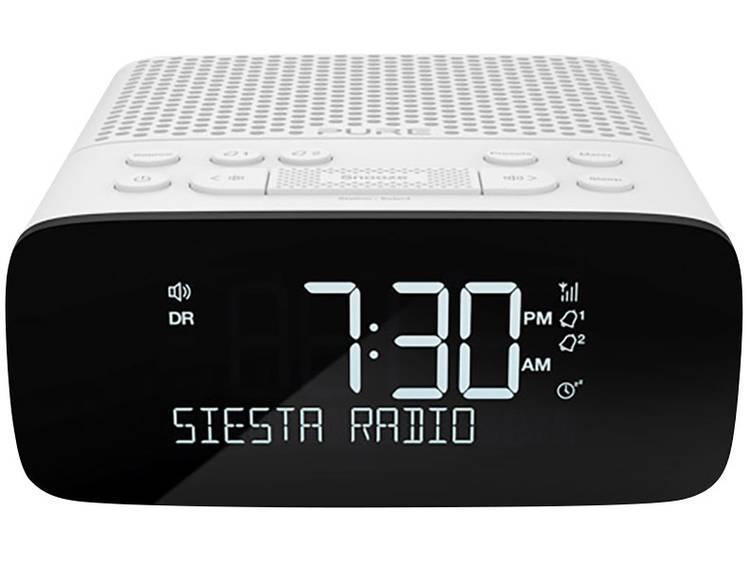 Pure Siesta S2 DAB+ Wekkerradio DAB+, FM Wit
