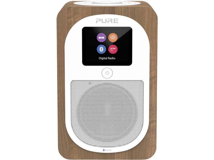 Pure Evoke H3 Tafelradio DAB+, FM Bluetooth, AUX Walnoot