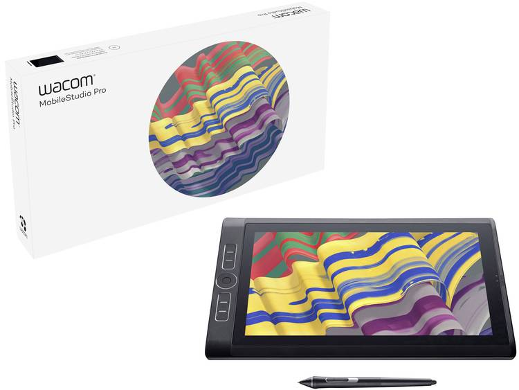 Wacom MobileStudio Pro 13 512GB Grafisch USB-tablet Zwart