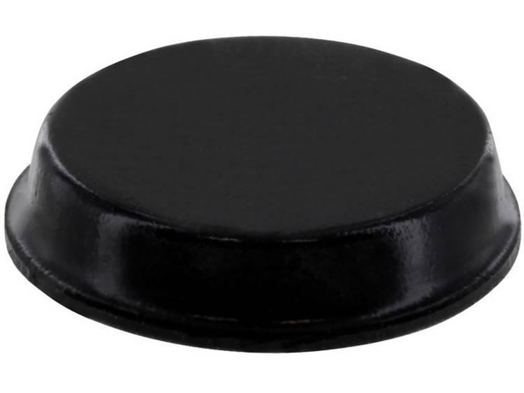 Apparaatvoet Anti-slip, Zelfklevend, Rond Zwart (Ã x h) 19.1 mm x 4.1 mm 1 stuks