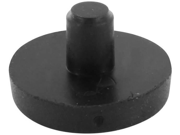 Apparaatvoet Zwart (Ã x h) 17 mm x 10 mm 1 stuks