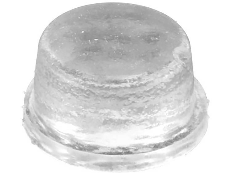 Apparaatvoet Anti-slip, Zelfklevend, Rond Zwart (Ã x h) 12.7 mm x 3.5 mm 1 stuks