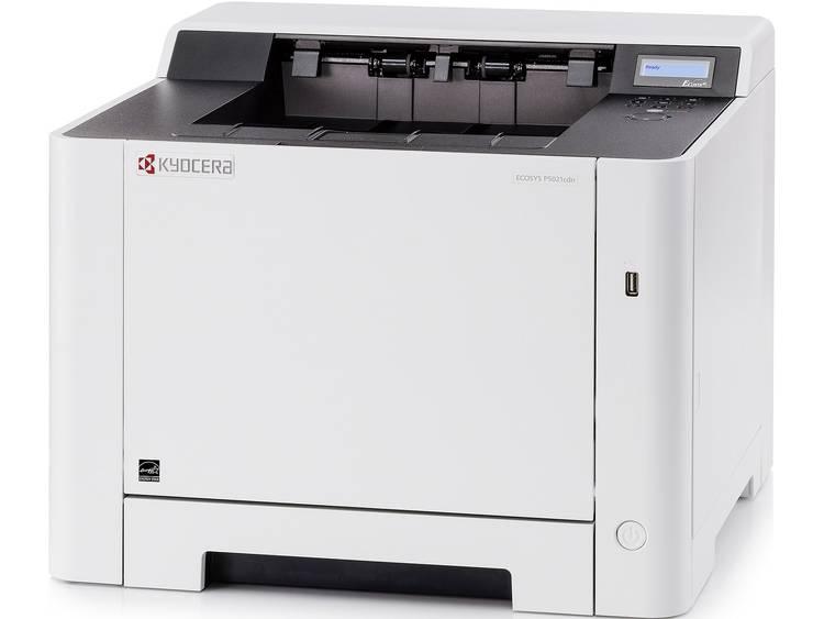 Kyocera ECOSYS P5021cdn Kleurenlaserprinter A4 21 p/min 21 p/min 9600 x 600 dpi LAN, Duplex