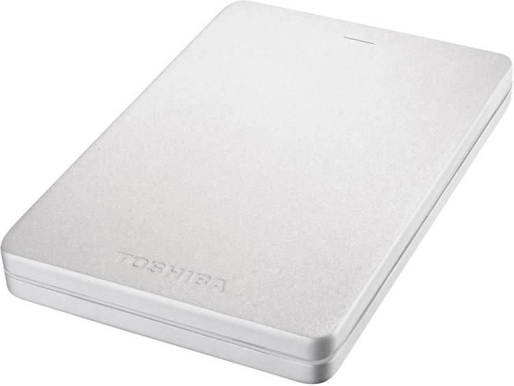 Toshiba Canvio Alu 1 TB Externe harde schijf (2.5 inch) Zilver