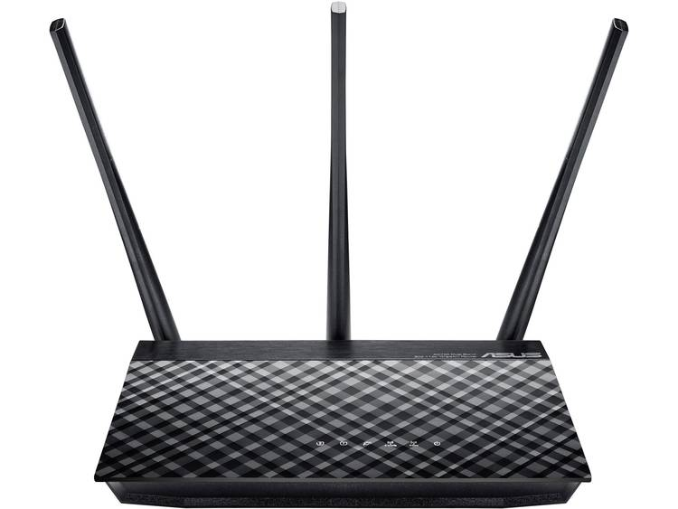 WiFi router Asus RT-AC53 2.4 GHz, 5 GHz 750 Mbit/s