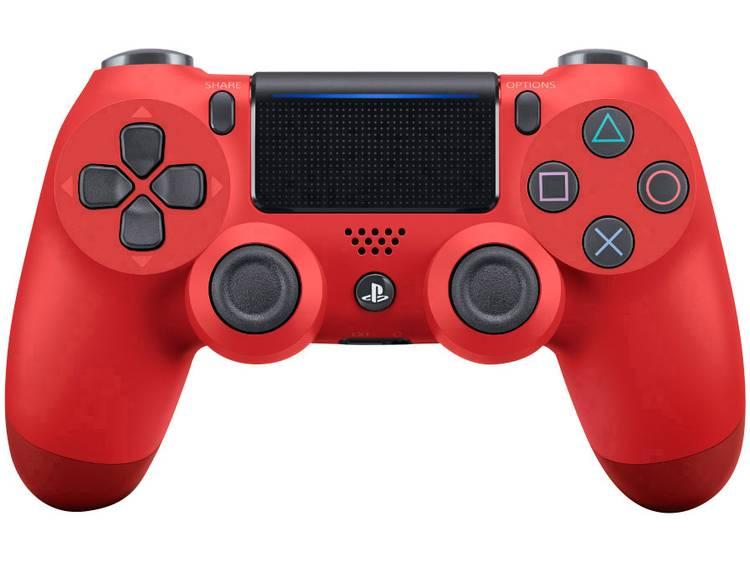 Sony Gamepad Playstation 4 Rood, Zwart