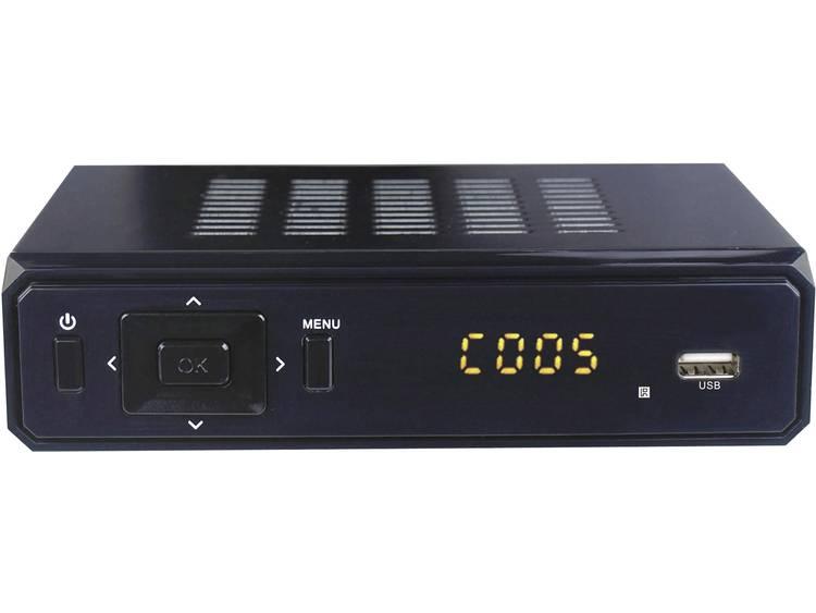 Denver DVBS-202HD DVB-S2 receiver Front-USB