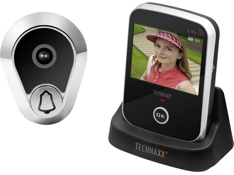 WiFi Deurspioncamera Technaxx 4648 Geschikt voor App: Ja 640 x 480 pix