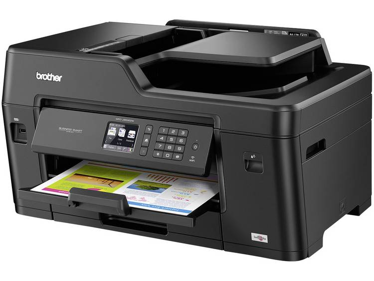 Brother MFC J6530DW Multifunctionele inkjetprinter Printen Scannen Kopiëren F
