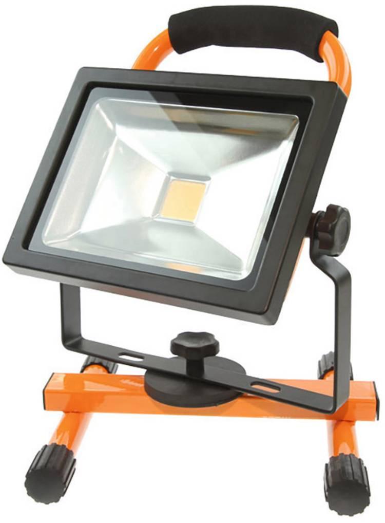 Image of SILA 306000 LED Werklamp werkt op het lichtnet, werkt op een accu 10 W, 20 W