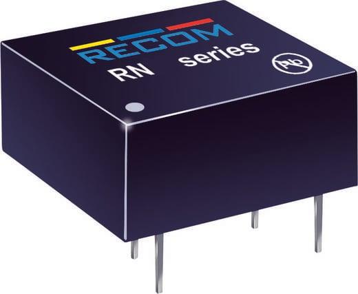 RECOM RN-0505S/P DC/DC-converter, print 5 V/DC 5 V/DC 250 mA 1.25 W Aantal uitgangen: 1 x