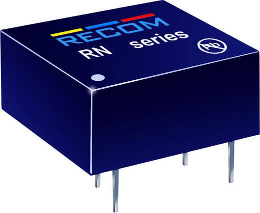 RECOM RN-1215S/P DC/DC-converter, print 12 V/DC 15 V/DC 83 mA 1.25 W Aantal uitgangen: 1 x