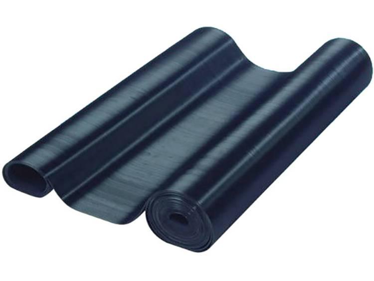 Adam Hall Fijngeribbelde mat Rubber Zwart 8000 mm Inhoud: 8 m