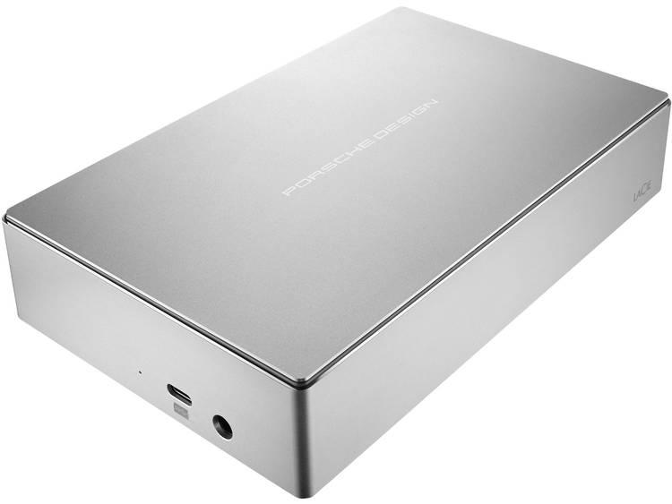 LaCie Porsche Design Desktop Externe harde schijf (3.5 inch) 8 TB Zilver USB-C Software-versleuteling