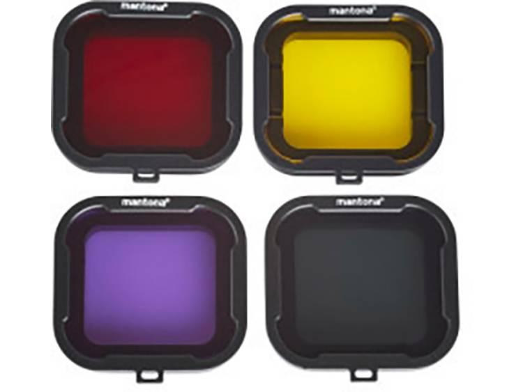 Mantona 21280 21280 Objectieffilter Geschikt voor: GoPro Hero 4, GoPro Hero HD 3+
