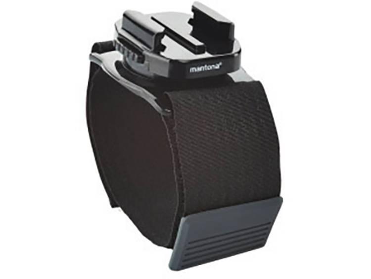 360° armbevestiging Mantona 21277 Geschikt voor (GoPro)=GoPro, Sony Actioncams, Actioncams