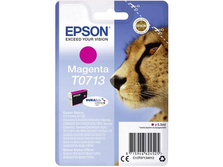 Epson Inkt T0713 Origineel Magenta C13T07134012