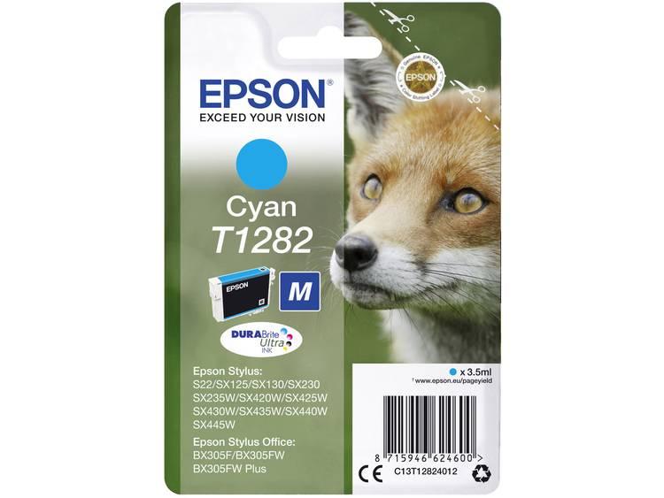 Epson Inkt T1282 Origineel Cyaan C13T12824012