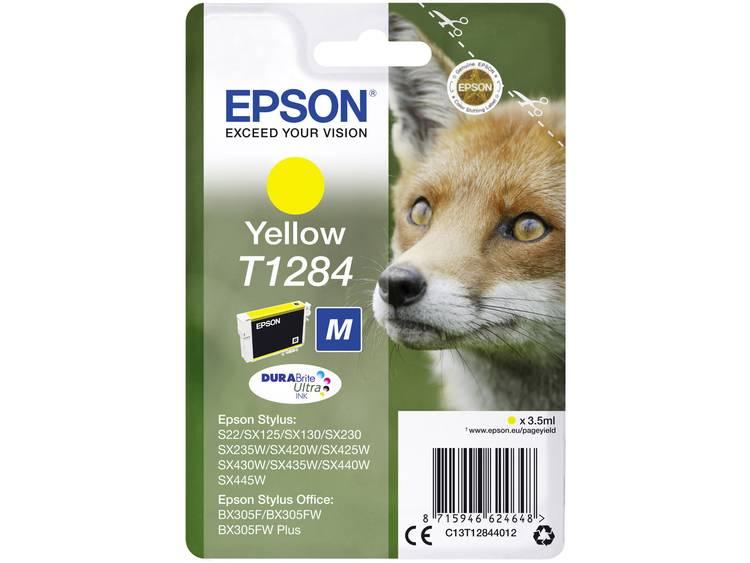 Epson Inkt T1284 Origineel Geel C13T12844012