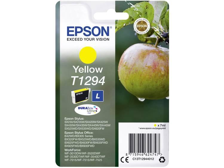 Epson Inkt T1294 Origineel Geel C13T12944012