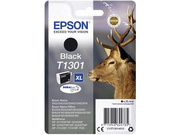 Epson Inkt T1301 Origineel Zwart C13T13014012