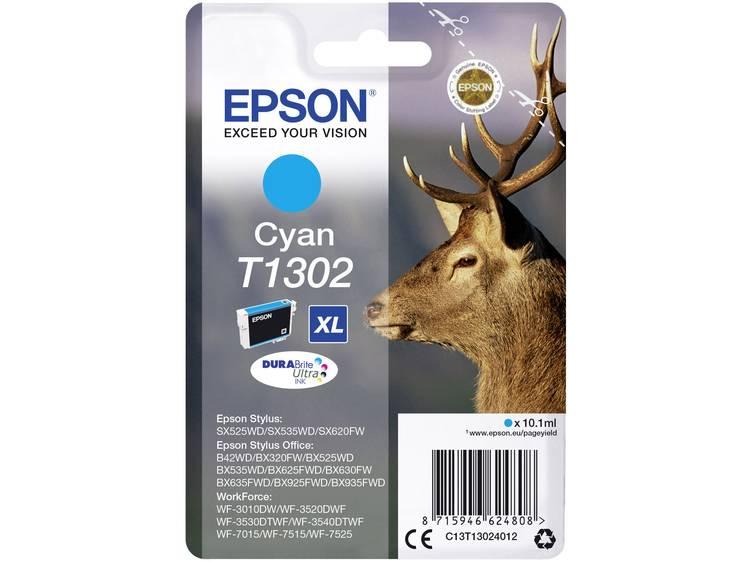 Epson Inkt T1302 Origineel Cyaan C13T13024012