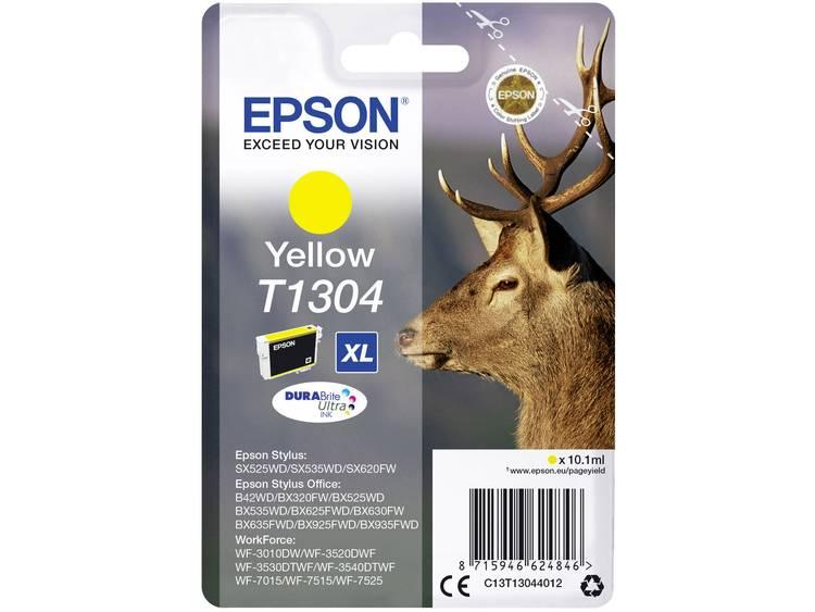 Epson Inkt T1304 Origineel Geel C13T13044012