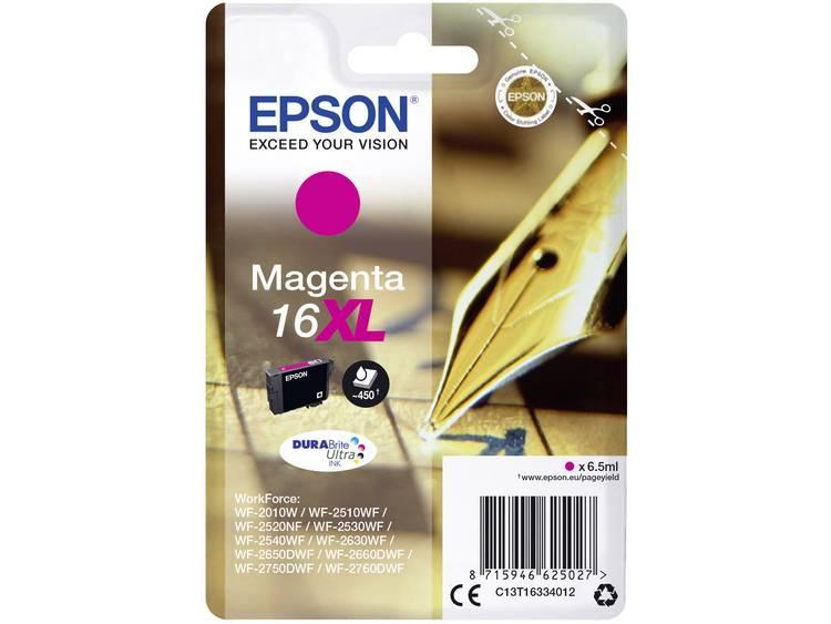 Epson Inkt T1633, 16XL Origineel Magenta C13T16334012