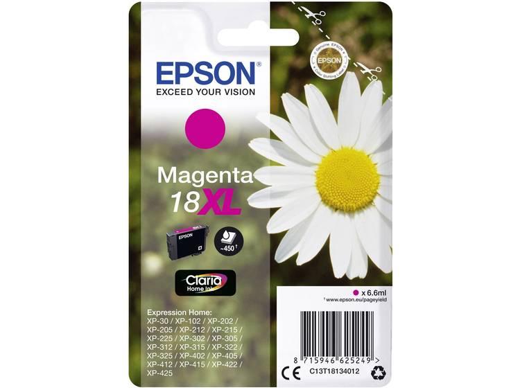 Epson Inkt T1813, 18XL Origineel Magenta C13T18134012