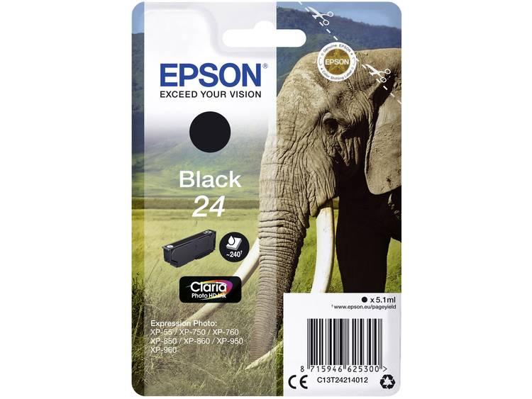 Epson Inkt T2421, 24 Origineel Zwart C13T24214012