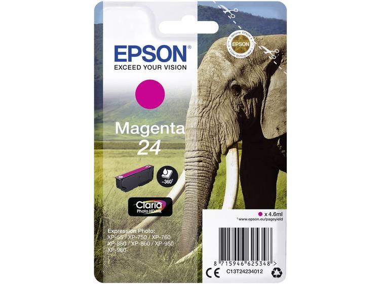 Epson Inkt T2423, 24 Origineel Magenta C13T24234012