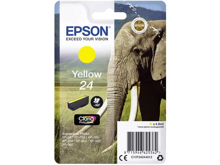 Epson Inkt T2424, 24 Origineel Geel C13T24244012
