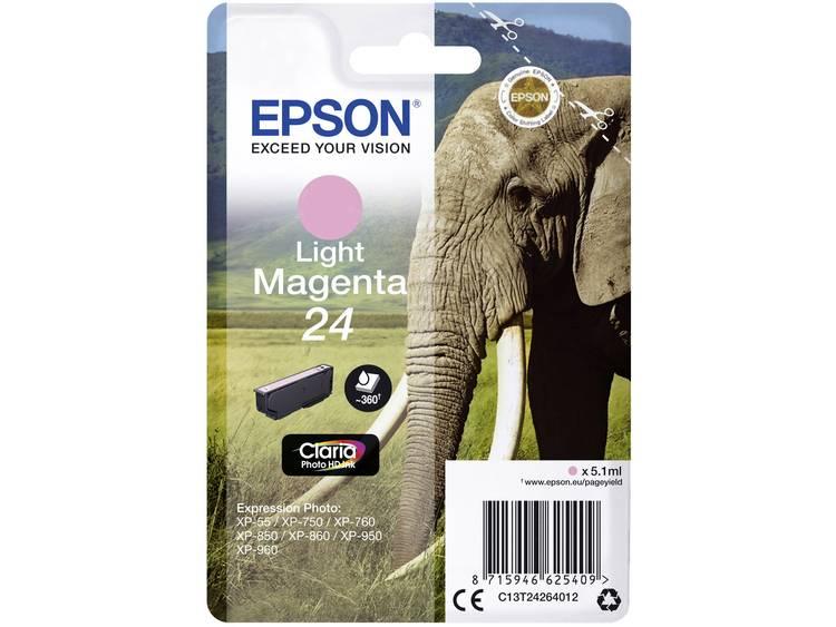 Epson Inkt T2426, 24 Origineel Lichtmagenta C13T24264012