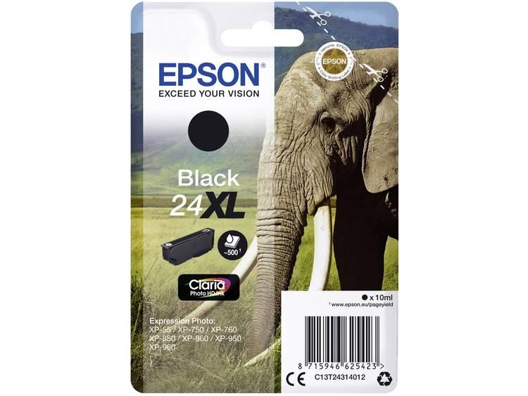 Epson Inkt T2431, 24XL Origineel Zwart C13T24314012