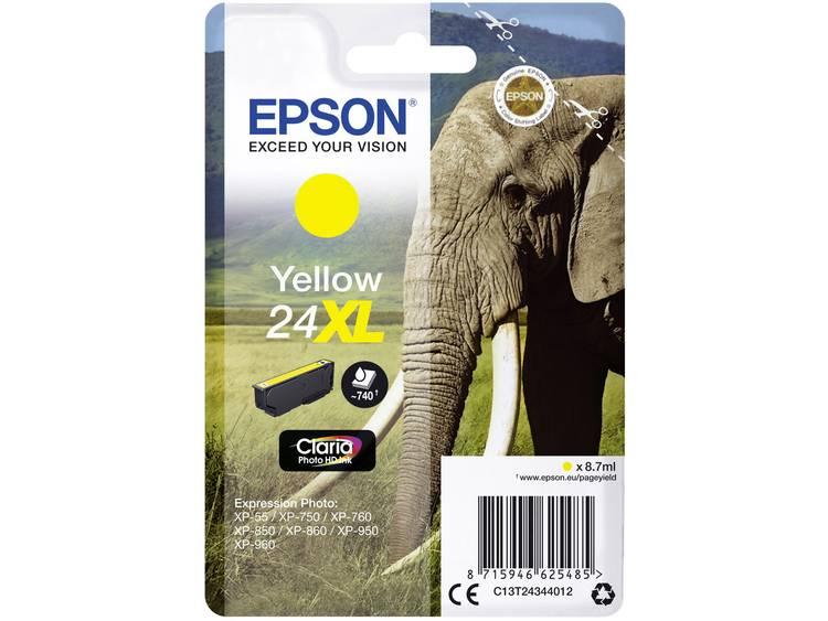 Epson Inkt T2434, 24XL Origineel Geel C13T24344012